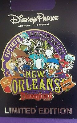 Disneyland Cast Exclusive New Orleans Square 50Th Anniversary Le 750 Pin