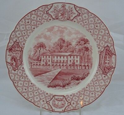 PHILLIPS EXETER ACADEMY DINNER PLATE The Administration Building ROYAL CAULDON