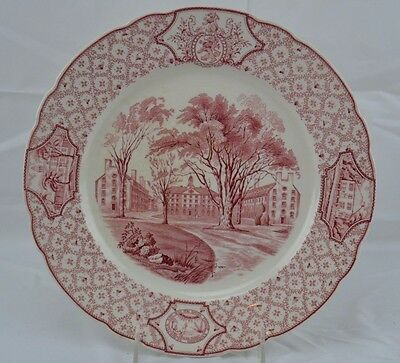 PHILLIPS EXETER ACADEMY DINNER PLATE Wentworth Amen and Gilley HallROYAL CAULDON