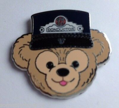 Disney Pin - DLR 2012 Hidden Mickey Series Duffy's Hats - Conductor Completer