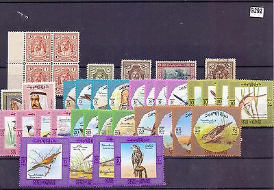 g292-Middle-East Collection mint & used