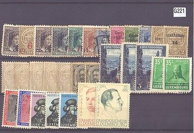 g221-Luxembourg Selection-Mint & Used