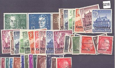 g210-Luxembourg Selection-Mint & Used