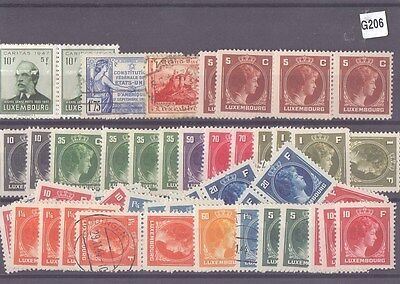 g206-Luxembourg Selection-Mint & Used