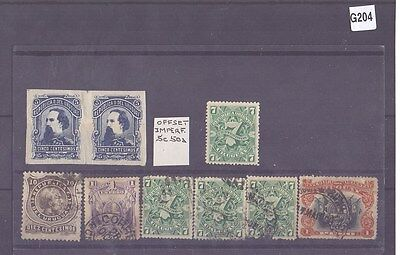 g204-Uruguay Collection-Mint & Used inc. Offset Imperf pair