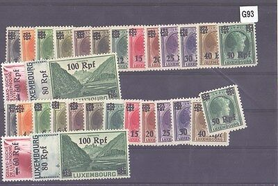 g93-Luxembourg Selection-Mint