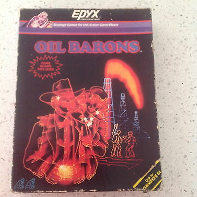Oil Barons Strategy Game for Commodore 64