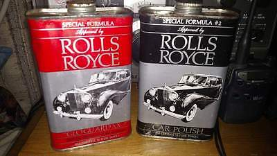 Rolls Royce Car Polish Vintage and Approved by Rolls Royce....2 Cans one UN-Open