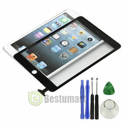 Black New Touch Screen Digitizer Panel Glass Lens Replacement For  iPad mini 3