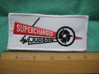 Supercharged By Judson Racing  Service  Uniform  Patch