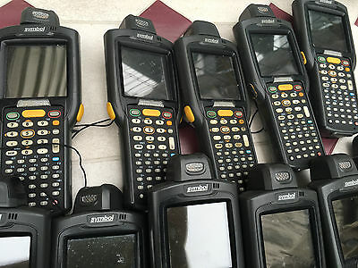 Lot Of 18 X Symbol Mc3070 Barcode Scanner Pda Mobile Computer + 10 Batteries