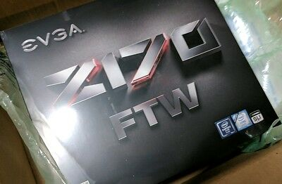 EVGA Z170 FTW Intel Socket LGA-1151 With DDR4 3200mHz+ Motherboard ATX