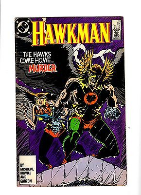 Hawkman #13 (Dc Comics, Aug 1987)