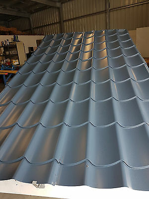 Metal tile roof sheets per Linear Meter