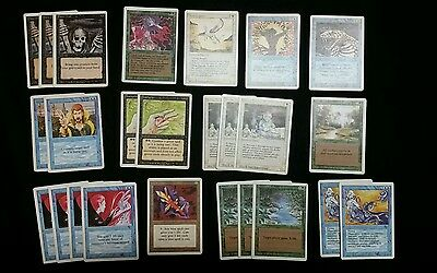 Magic The Gathering Revised 1994 lot of 78 cards