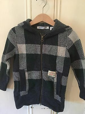 Country Road Boys Green Knit Jumper 3