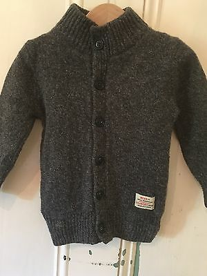 Country Road Baby Boys Grey Knit Jacket 3