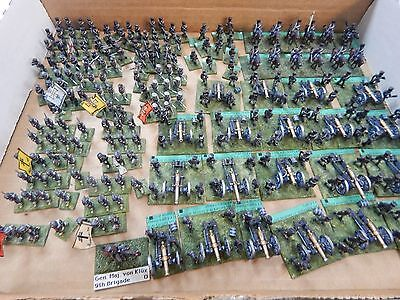15mm metal painted Napoleonic Prussian Artillery, Cavalry and Infantry -Minifigs