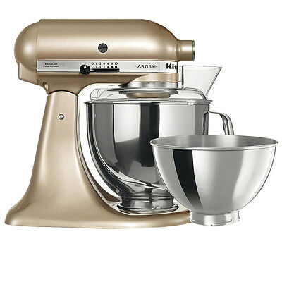 NEW KitchenAid KSM160 Stand Mixer Champagne Gold Limited Edition (RRP $879)