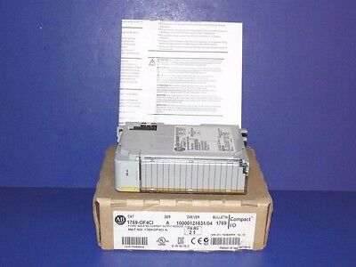 NEW IN ORIGINAL BOX Allen Bradley 1769-OF4CI /A CompactLogix Isolated Analog Mod