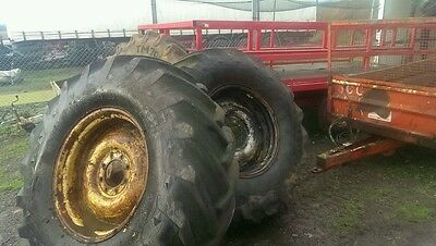 Pair of 18.4 - 26 Tractor Tyres