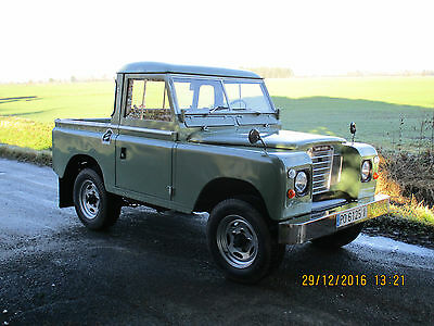 1977 Land Rover Other pick up or station wagon land rover LHD 88 inch series 3 swb 4x4 diesel 1977 video includes shipping