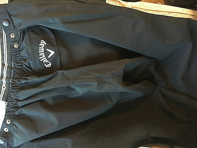 BNWT Callaway Ladies Waterproof Golf Trousers. Small & XL available. RRP £55