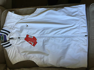 BNWT Callaway Mens White Golf Golfing Gilet Vest Top Medium, Large, XL available