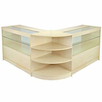 Orion Maple Shop Counter & Retail Display Set