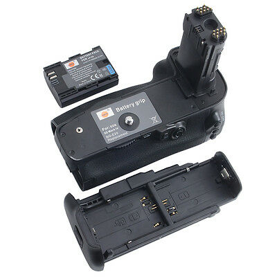 DSTE BG-E20 Battery Grip + LP-E6 Battery For Canon EOS 5D Mark IV 5DIV 5D 4