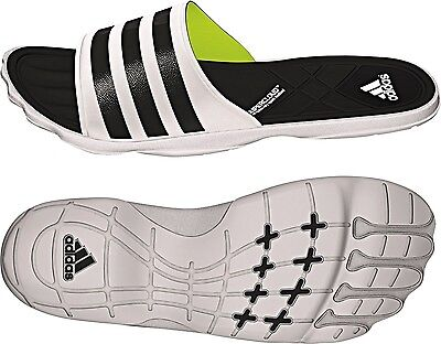Adidas Mens/youths Adipure Sc Slides Flip Flops Pool Beach Sandals Uk 5 *bnwt*