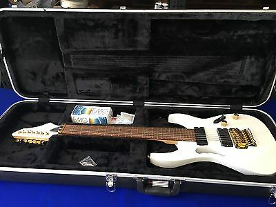 7 string Electric Guitar With New EMG pick ups and great condition gator case