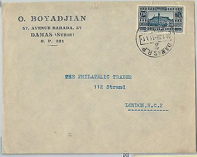 59026 - SYRIA  - POSTAL HISTORY:   COVER to  GREAT BRITAIN  1933