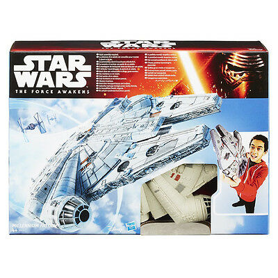 Star Wars Force Awakens Millennium Falcon Model Vehicle Official Hasbro Toy