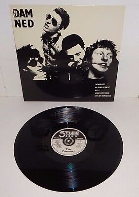 "THE DAMNED NEW ROSE / NEAT NEAT NEAT + 3 1985 STIFF 1st PRESS 12"" P/S - UNPLAYED"
