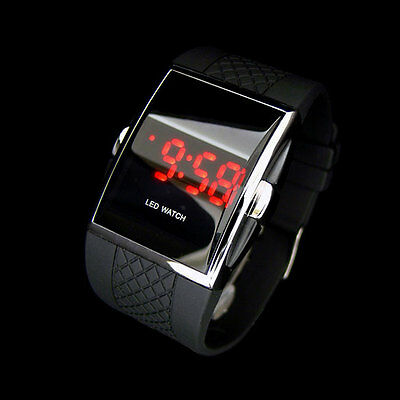 Luxury Watches Wrist Men\'s Digital LED Sports Watch Waterproof New Quartz