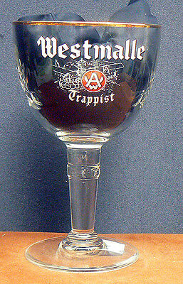 WESTMALLE (b)  Limited Edition Cut Glass Crystal Belgian Trappist Beer glass