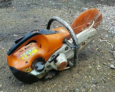 Stihl Ts 410 Petrol Disc Cutter In Good Working Order
