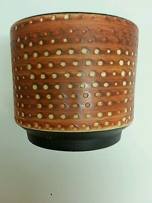 Vintage Retro 1960s / 1970s Plant Pot from West Germany