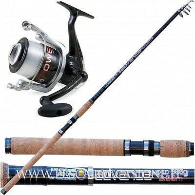 Kit Pesca Fondo Canna Da Pesca Advance + Vigor Power + Filo SP