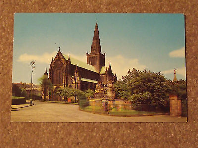 Colourmaster International card of Glasgow Cathedral PT 35261