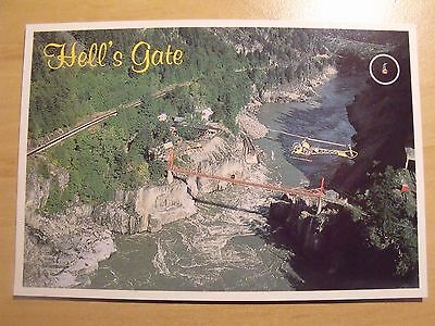 Hells Gate Fraser Canyon British Colombia an unposted postcard