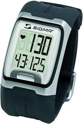 Sigma PC3.11 Heart Rate Monitor Computer Sports Wrist Watch  Black