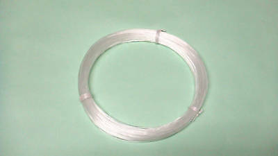 50 meter Fishing leader clear line(300lb 1.6mm)