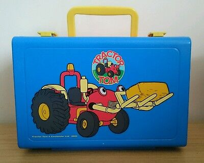 Kids Childrens Tractor Tom Plastic Lunchbox