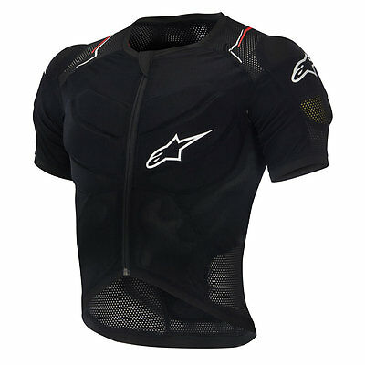 XL Alpinestars Evolution MTB Protection Body Armour Short Sleeve Downhill Jacket