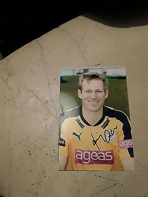 Hampshire Cricketer Jimmy Adams Hand Signed Autograph