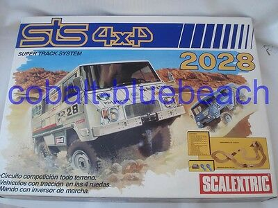 Scalextric Sts 2028 4 X 4 Pinzgauer Set Never Used Direct From Exin Factory