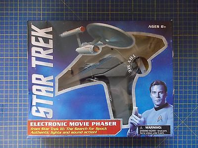 Star Trek III Movie Phaser New Damaged Packaging