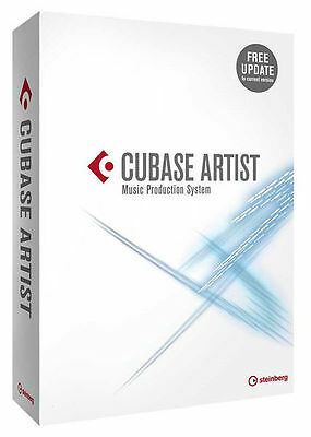 Steinberg Cubase Artist 9  NEW DIGITAL DELIVERY RETAIL